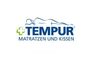 Das Logo von Tempur