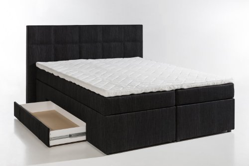 boxspring bett ohne matratze inter boxspringbett stoff. Black Bedroom Furniture Sets. Home Design Ideas
